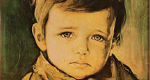 Ağlayan Çocuk Portresi