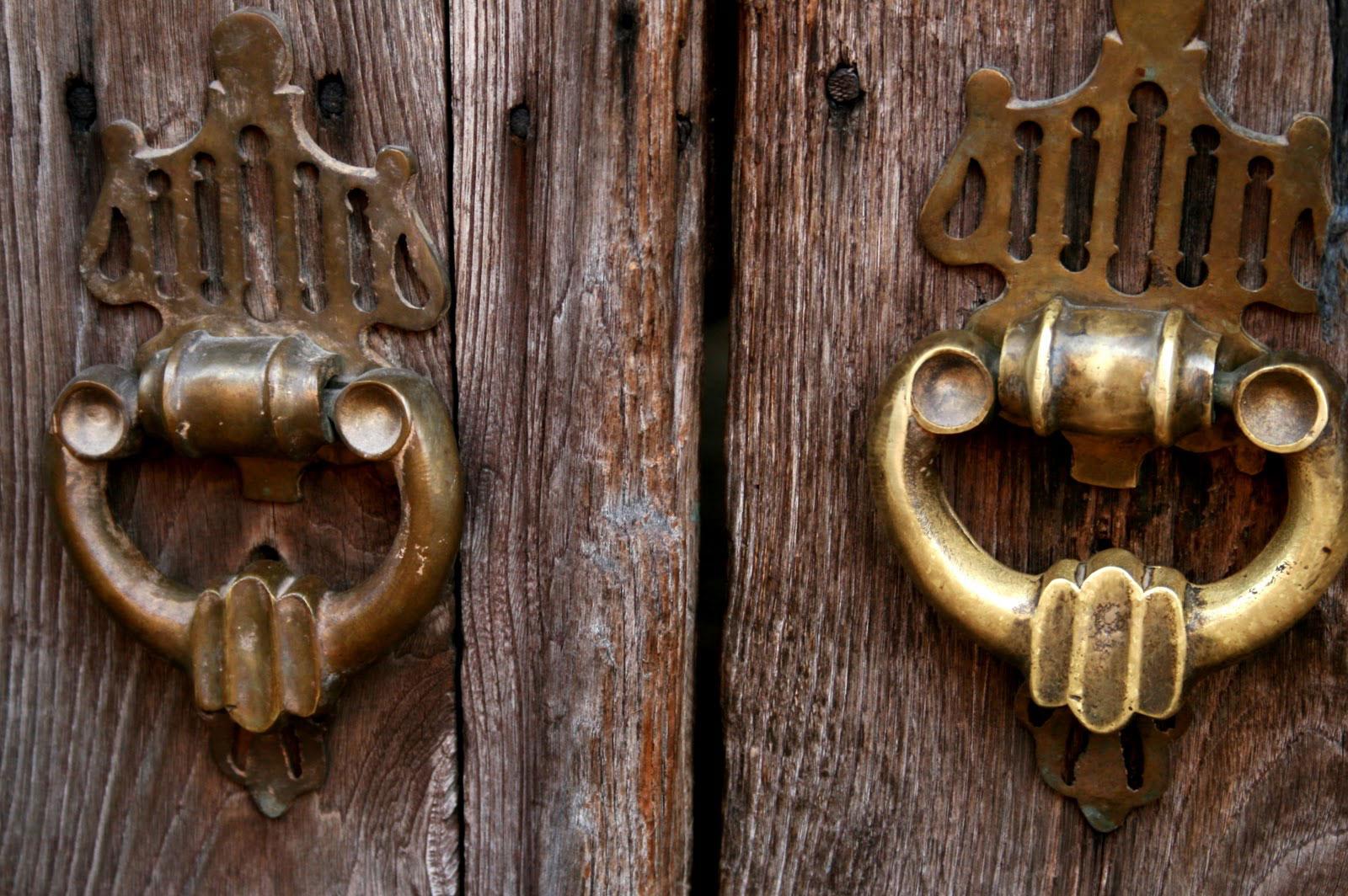 osmanlı kapı tokmağı